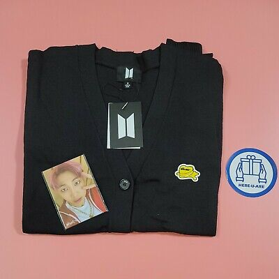 BTS Butter Cardigan M size with 7 photo cards jk rm v jimin jin suga j hope