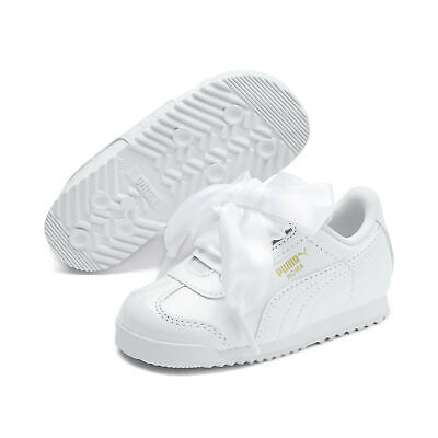 PUMA Infant Girl's Roma Heart Patent Shoes