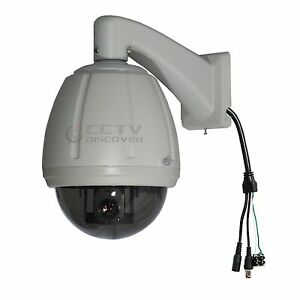 CCTV-7-Dome-27x-Zoom-PTZ-D-N-Outdoor-Camera-Sony-1-4-CCD-Wall-mount-Low-speed