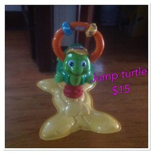 Vtech jumping turtle, great condition $15