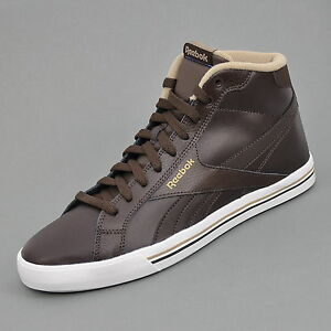 reebok royal complete mid sneaker herren schuhe braun v54925 ebay. Black Bedroom Furniture Sets. Home Design Ideas