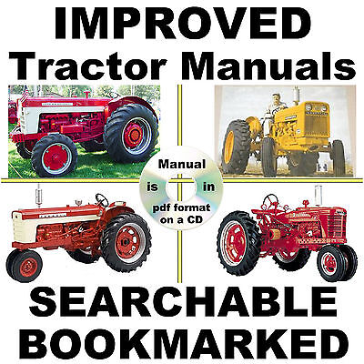 Ih International 684 784 Hydro 84 Service Repair Shop Manual Searchable Cd