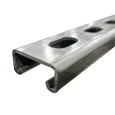 316 Stainless Steel Half Slotted Strut Channel 1316 X 1-58 X 60