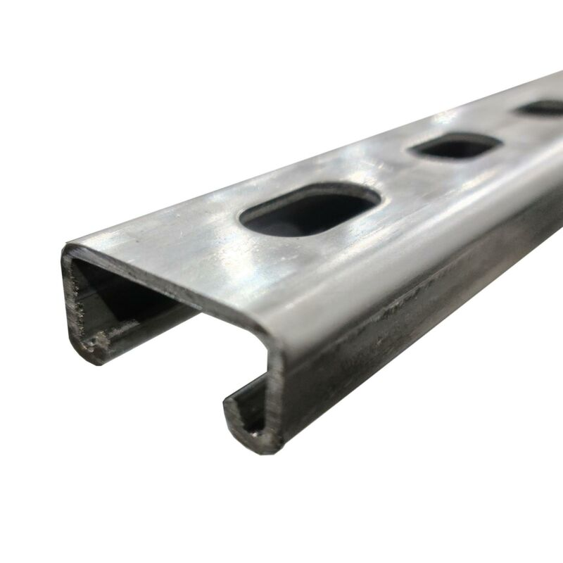 """316 Stainless Steel Half Slotted Strut Channel, 13/16"""" x 1-5/8"""" x 60"""""""