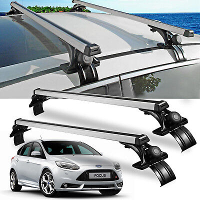 "For Ford Focus Fusion Car 48"" Luggage CrossBars Roof Rack Carrier Window Frame"