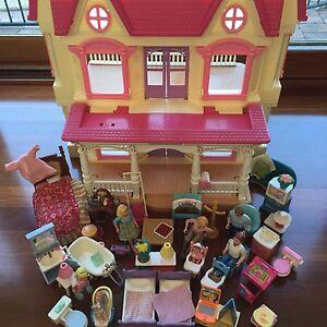 Fisher Price Loving Family Vintage Doll House Figures Furniture Bulk Singleton Singleton Area Preview