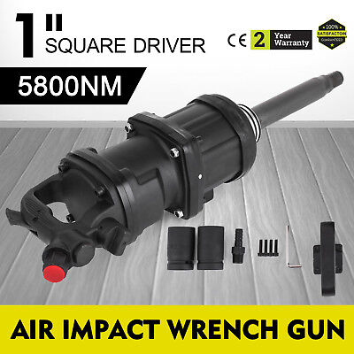 1 Pneumatic Impact Wrench Industrial Air Impact Wrench 5800n.m W 8 Anvil