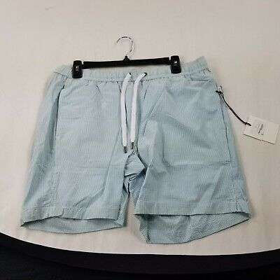 Onia Swim Trunks large Lined Pockets blue striped as