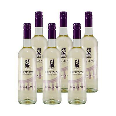 Miros Imiglykos Griechischer Weißwein (6 x 0,75L) 11,00% vol. 4,5 L