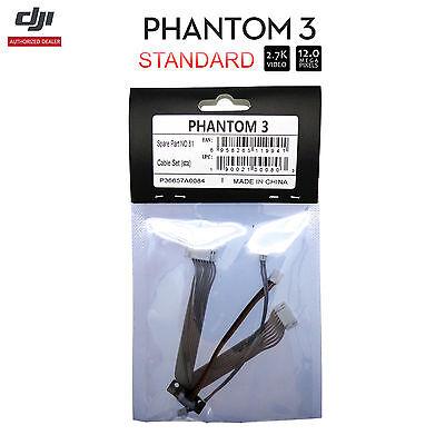 DJI Phantom 3 Standard RC 2.7 K Camera Drone Part 81 Cable Set (STA)