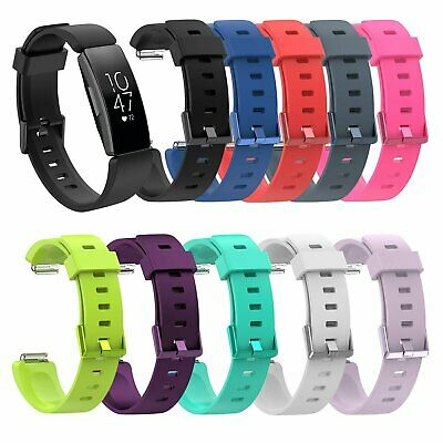 10-PACK Wristband Silicone Bracelet Strap Band for Fitbit Inspire / Inspire HR Jewelry & Watches