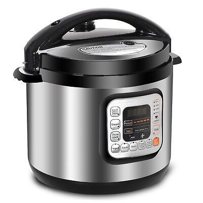 6.3 Qt Family Capacity Electric Pressure Cooker 11 Presets 1000W