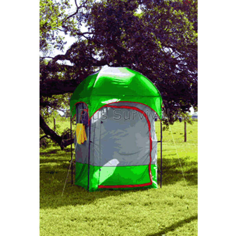 Deluxe Survival Camping Privacy Changing Shelter and Toilet & Shower Room Tent