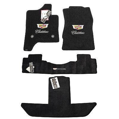 NEW 2015-2020 Cadillac Escalade  ESV Floor Mats 3 Logos Captain Chairs INSTOCK
