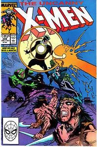 UNCANNY X-MEN 249...NM-...1989...Havok & Polaris!...Bargain Lot!