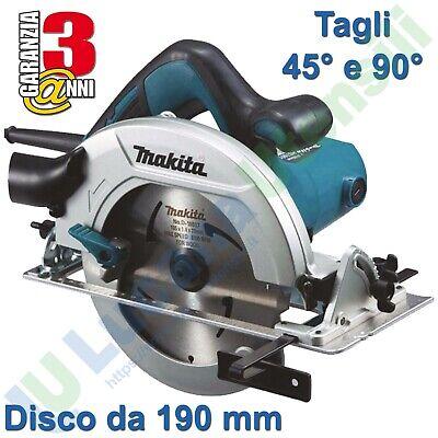 Sierra Circular Madera Eléctrica Manual Makita Cuchilla Disco Ø 190mm 1200W