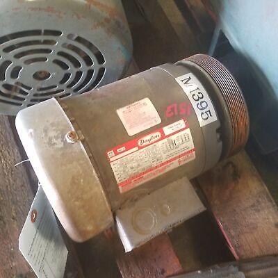Dayton 3n317d 1hp 3 Phase Electric Motor 3450 2850 Rpm