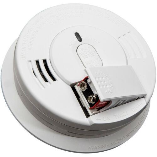 Kidde I12060 Hardwire Ionization Smoke Alarm with Front Battery Backup