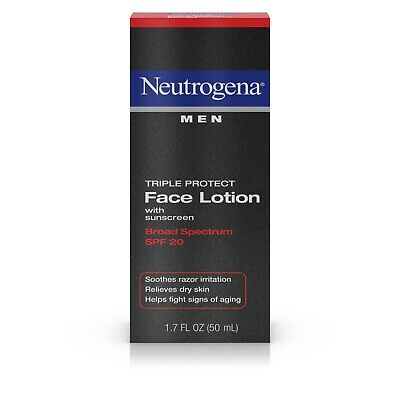 Neutrogena Face Lotion, Triple Protect, SPF 20, 1.7 fz