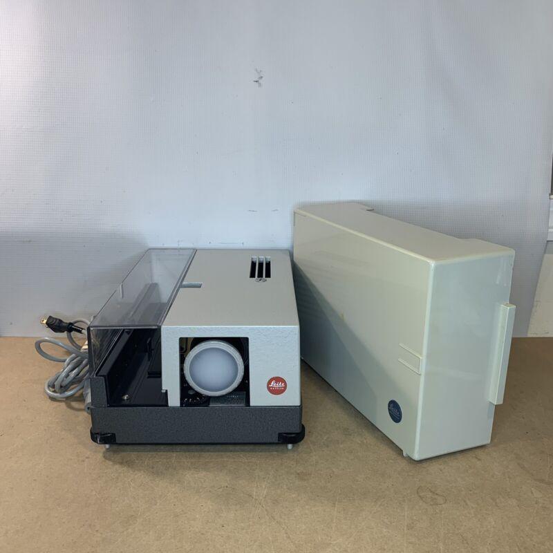 Ernst Leitz Wetzlar Pradovit Color Slide Projector With 1:2.8/100mm Lens