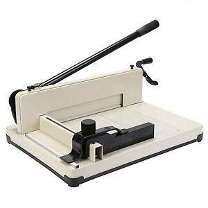 Papierschneider A4 Hebelschneider Papier Schneidemaschine 400 Blat Schneider NEU