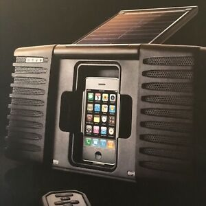Eton SOULRA  solar powered amplified speaker for older iPods