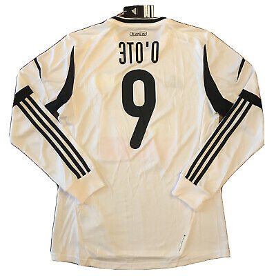 2012/13 Anzhi Makhachkala Third Jersey #9 Eto'o L Long Sleeve Player Issue NEW image
