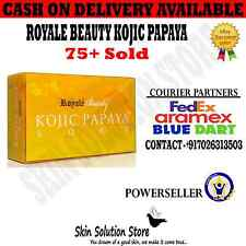 1 PC 101% AUTHENTIC ROYALE BEAUTY KOJIC PAPAYA SOAP WITH FREE SHIPPING (LIKAS)