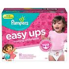 Girls 2T-3T Size Baby Disposable Diapers
