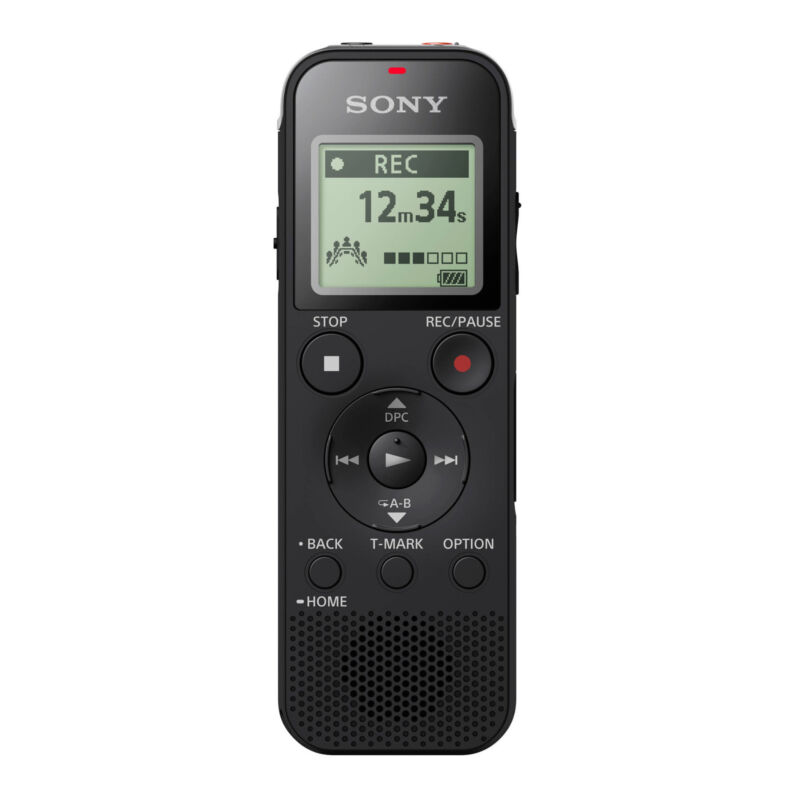 SONY ICD-PX470 Stereo Digital Voice Recorder Up To 55 Hours Battery Life