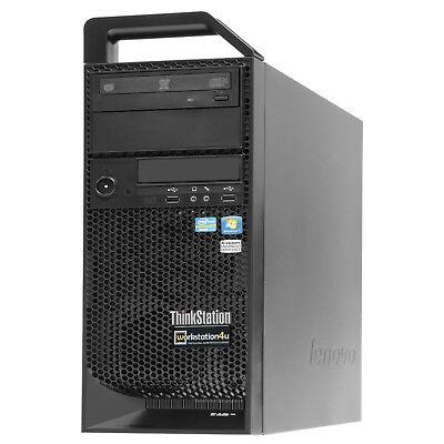 Lenovo S30 workstation Xeon E5-1607 Quad Core 3,0 Ghz 32 Gb ram , sans HDD, GPU