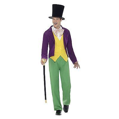 M Roald Dahl Willy Wonka & The Chocolate Factory voll 6 Stück Maskenkostüm