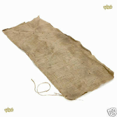 5 Hessian Sandbags Sand Bags Sacks - Flood Prevention