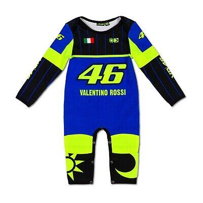 VR46 Babystrampler, Valentino Rossi Replica 2019, Strampler 12 Monate - 80