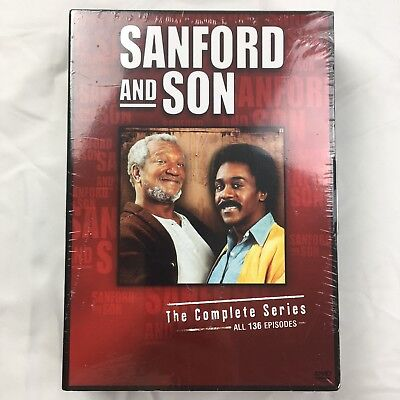 Sanford And Son  The Complete Series Dvd Box Set   All Seasons 1 6 Tv Series