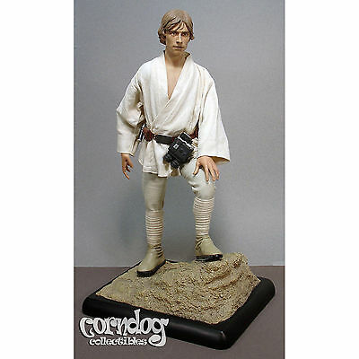 Star Wars Sideshow Premium Format Luke Skywalker Statue Tatooine 1:4 1/4 Scale
