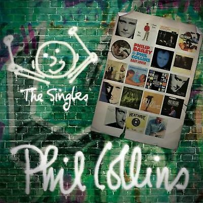 PHIL COLLINS THE SINGLES DOUBLE VINYL LP (Greatest Hits) (Pre-Order 8/6/2018)