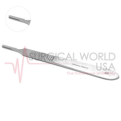 1 Scalpel Handle 3 Fits Blade 10 10a 11 12 15 15a B.p Surgical Dental Ent S.s