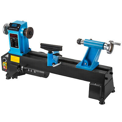 10x18 Wood Lathe Digital Readout Benchtop 550w 500-3800rpm Infinitely Variable