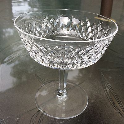 WATERFORD - ''ALANA'' - CHAMPAGNE / SHERBET GLASS - 12 AVAILABLE...../ ()
