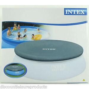 Intex d bris housse pour 457cm easy set gonflable for Housse piscine intex
