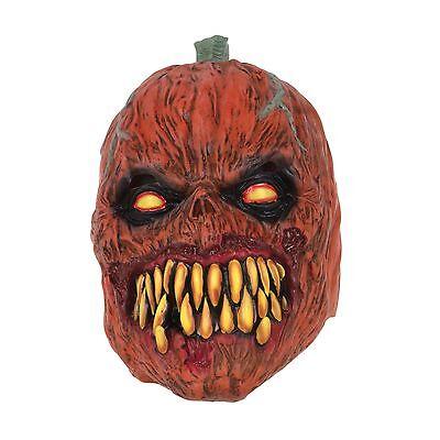 Halloween Siniestro Horror Evil Calabaza Máscara de Látex Accesorio de Disfraz