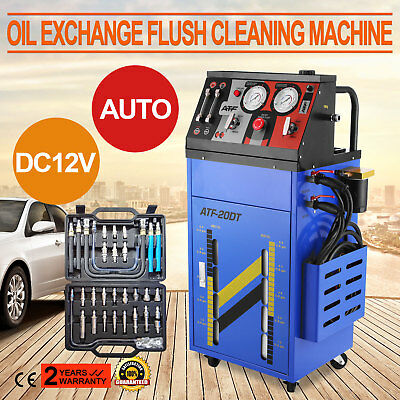 12V Auto Transmission Fluid Oil Exchange Flush Cleaning Cleaner Machine Work