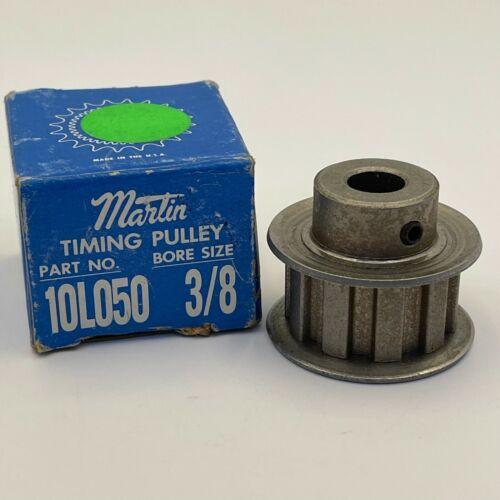 MARTIN 10L050 3/8 TIMING PULLEY NIB