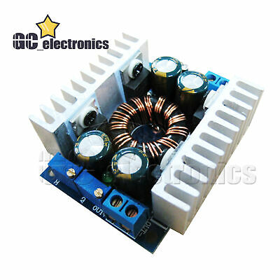 Dc-dc 10a Buck Boost Module Driver Step Down Up 5-30v To 1-30v Current Control