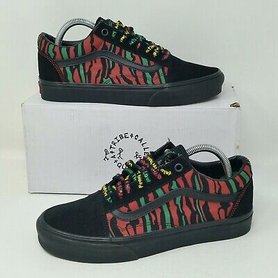 *NEW* Vans Authentic X Tribe Called Quest (Women Size 7) Skate Shoes Old Skool