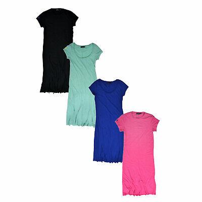 Polo Ralph Lauren Womens Maxi Dress Crew Neck Short Sleeve Pony Logo Xs S M L