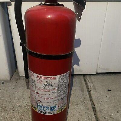 Kidde Fire Extinguisher Dry Chemical 10 Lb