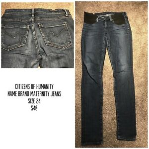 Maternity Jeans- Size 24 (Citizens of Humanity)