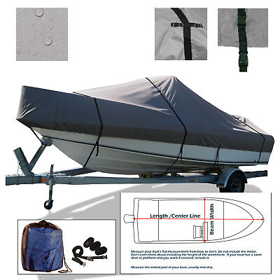 Boston Whaler Boat Cover - Boston Whaler Dauntless 13 Trailerable Boat Cover Grey